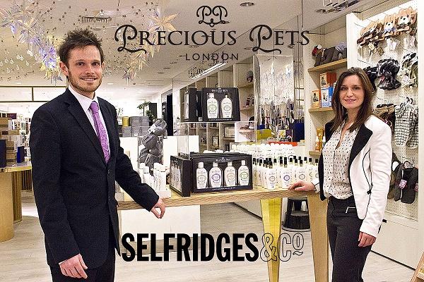 Selfridges & Co. London introduced Precious Pets London range for Christmas 2015