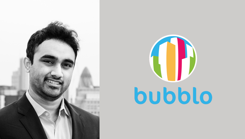 Shashank Sripada of BubbleScene Ltd