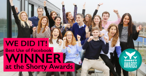 Agency:2 Best use of Facebook at the global Shorty Awards