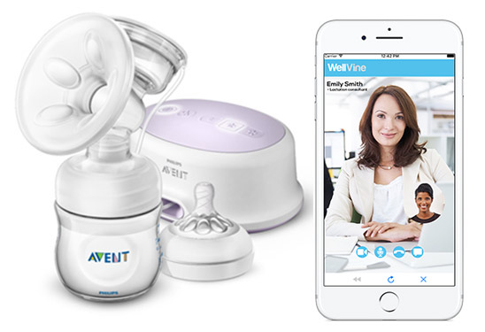 WellVine partner with Philips Avent