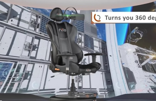 Investee Roto VR launches the World's first motorised virtual reality chair